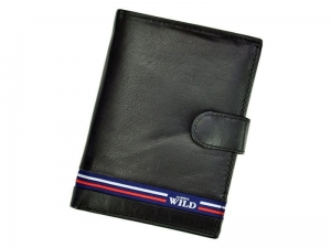 Always Wild N4L-GV portfel męski czarny poziomy