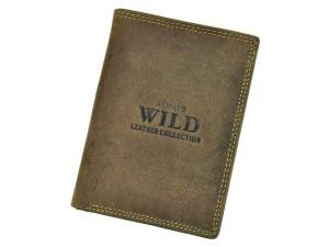 Portfel meski skorzany Always Wild N4-MHU Brown