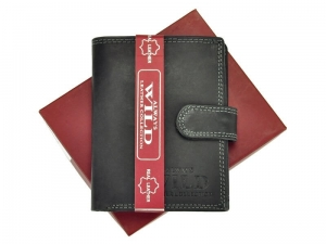 Always Wild N4L-MHU Black portfel meski skorzany