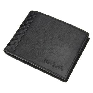 Pierre Cardin Tilak 40 8805 czarny poziomy skorzany portfel