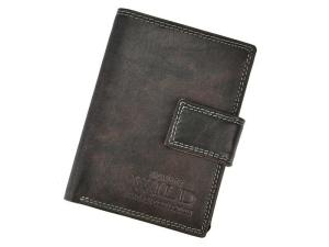 Always Wild N890L-MCR czarny skorzany pionowy portfel