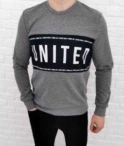 Szara bluza bez kaptura Tommy life united 70255