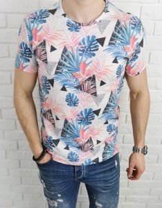 Kolorowa meska koszulka LNS