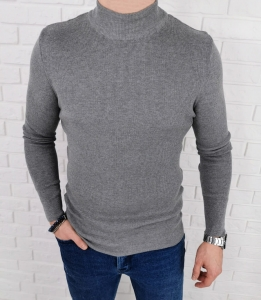 Szary sweter polgolf meski 3431