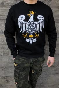 Czarna męska bluza z orłem